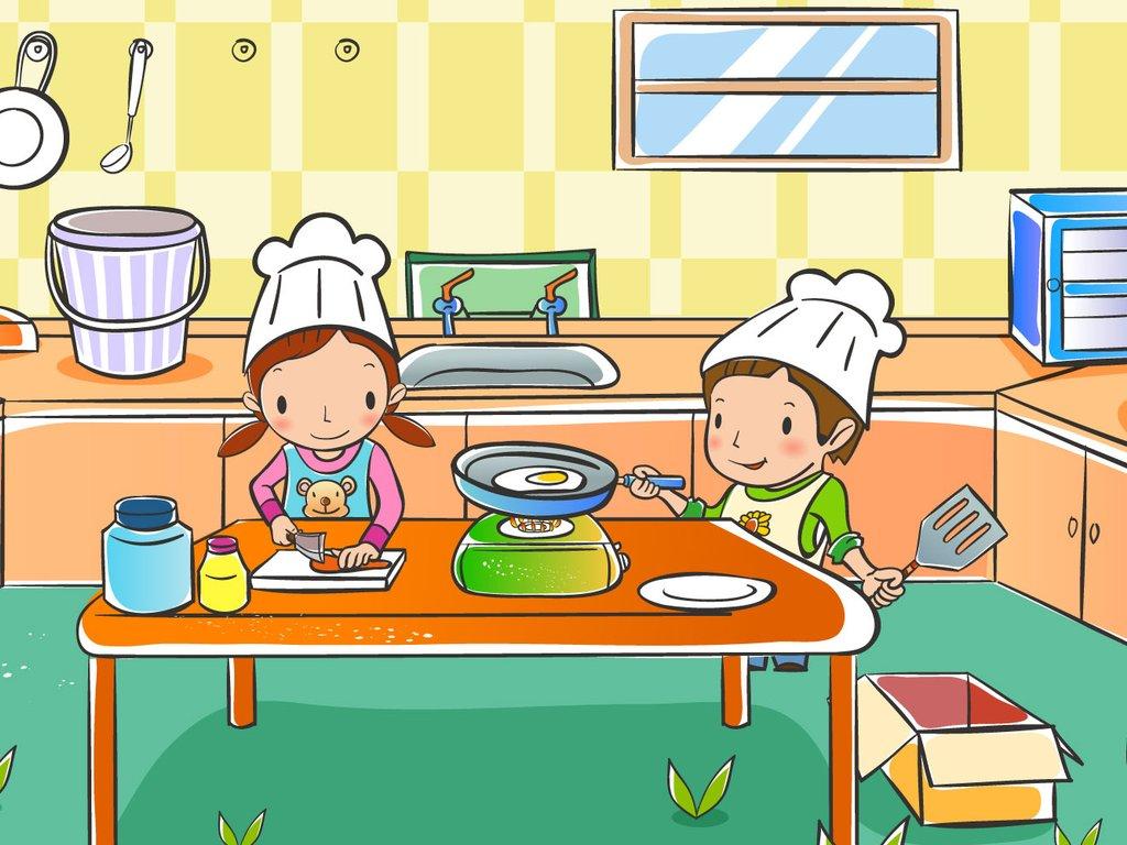 动漫 卡通 可爱 人物 女孩 儿童桌面专用 尼玛