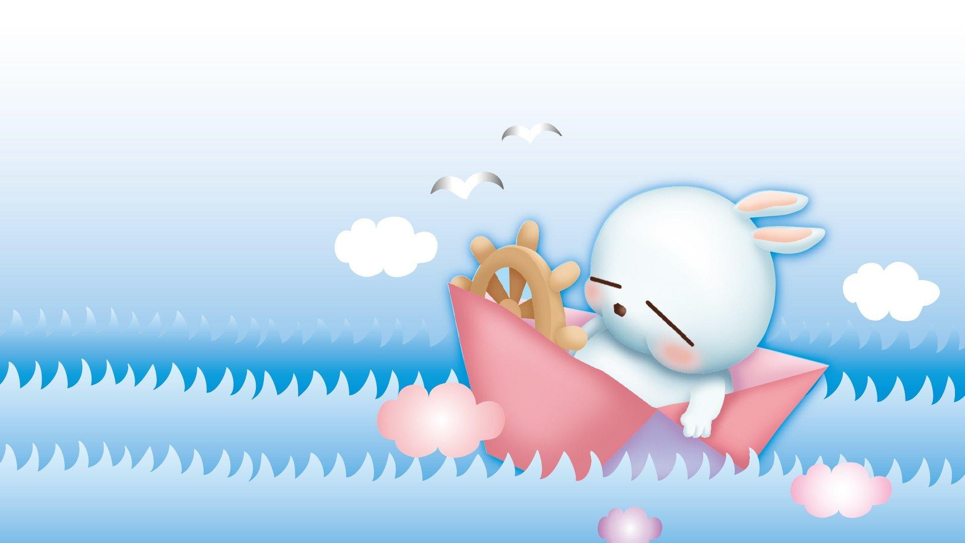 android安卓动漫 卡通 可爱 流氓兔高清手机壁纸免费