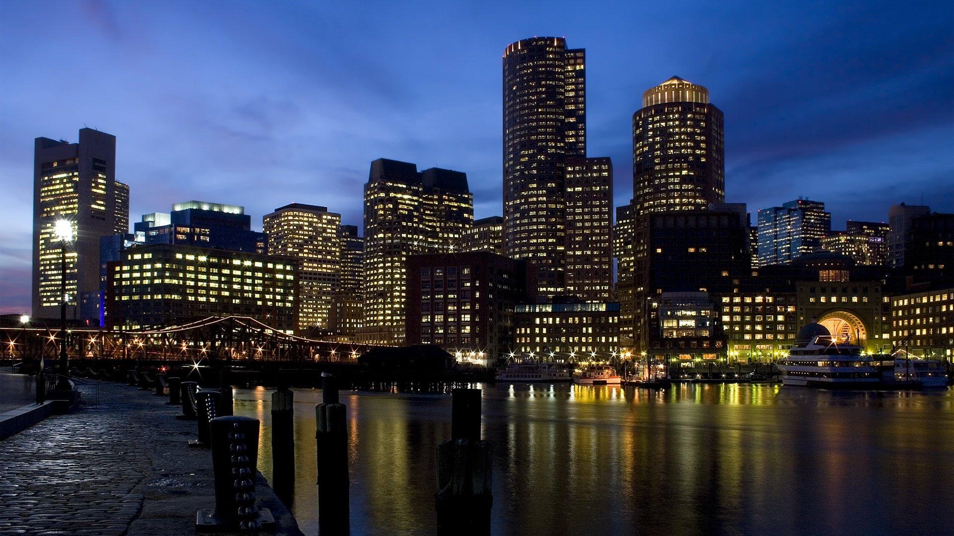 城市夜景宽屏桌面壁纸高清 风景壁纸 壁纸下载 美