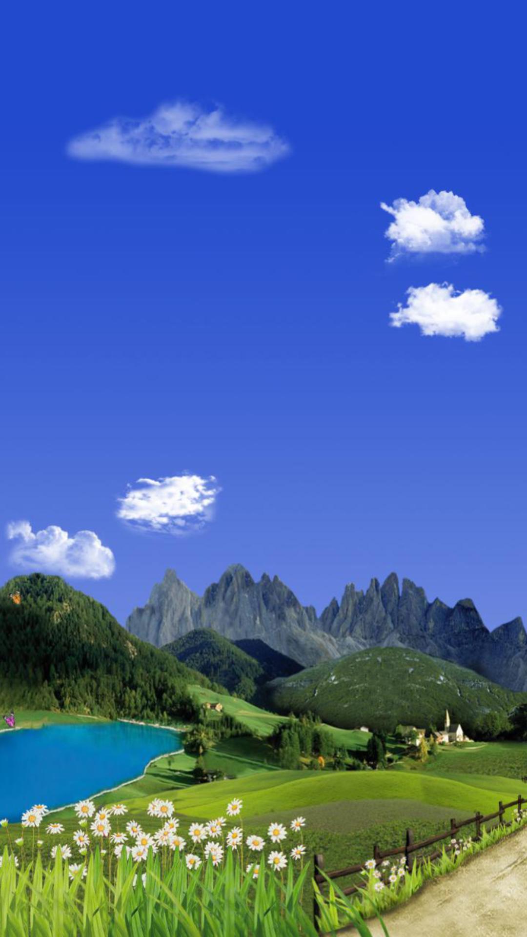 美丽山水主题动态壁纸截图2