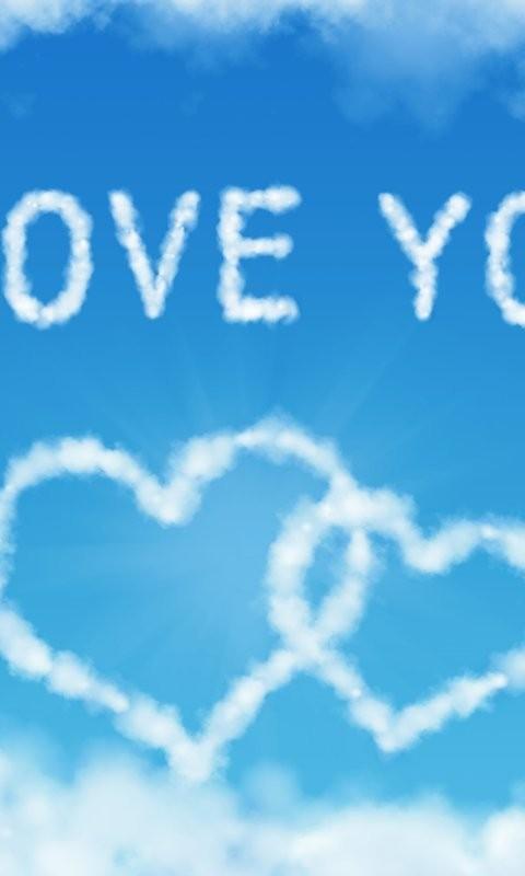 蓝色爱情誓言-桌面壁纸