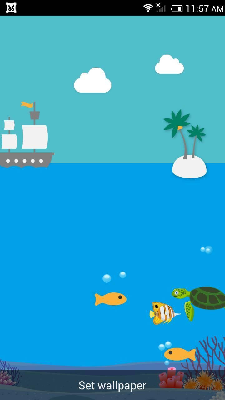 海底世界-梦象动态壁纸下载