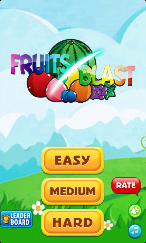 满屏可爱水果图片