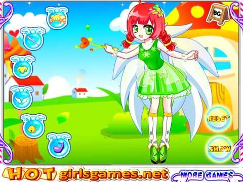 小游戏 >可爱小花仙  小巧可爱的小天使每时每刻都能