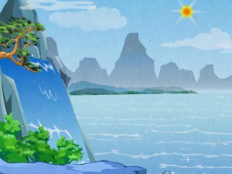 >望庐山瀑布
