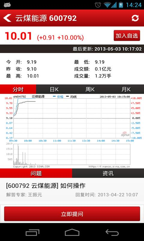 股票咨询室-问股截图5