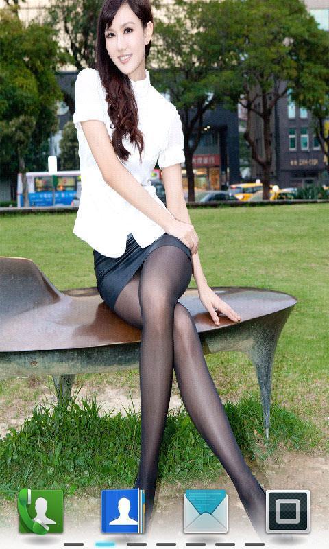 美女丝袜高清壁纸_360手机助手