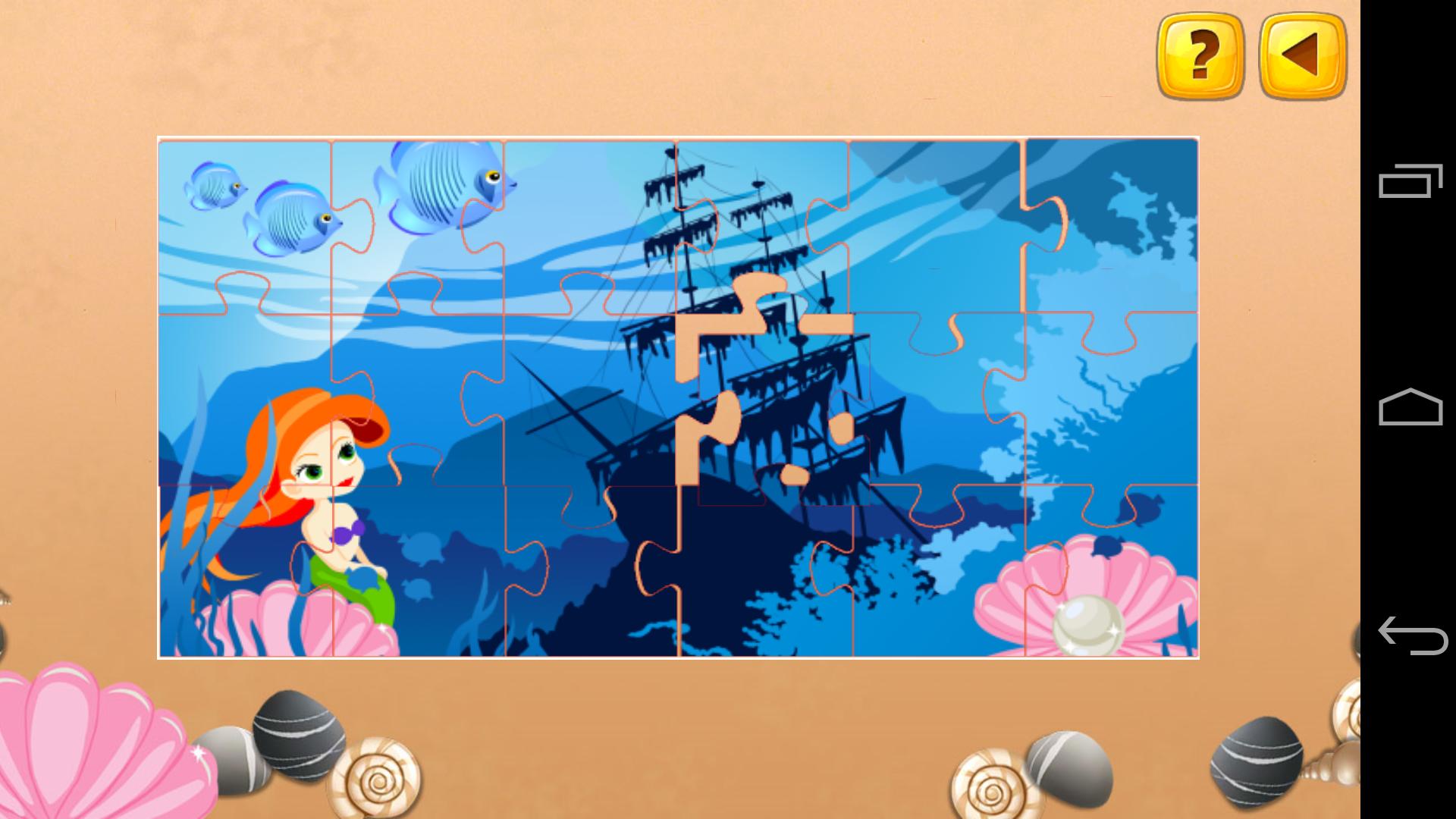 儿童海洋拼图,儿童海洋拼图游戏